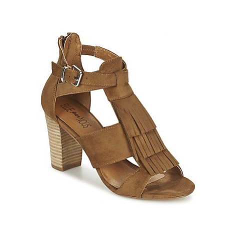 Elue par nous TIADODO women's Sandals in Brown