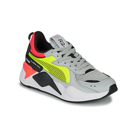 Puma RSX HARD DRIVE GS girls's Children's Shoes (Trainers) in Yellow