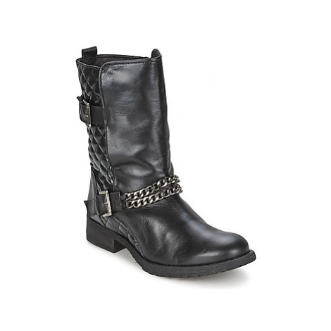 Alba Moda STOULE women's Mid Boots in Black