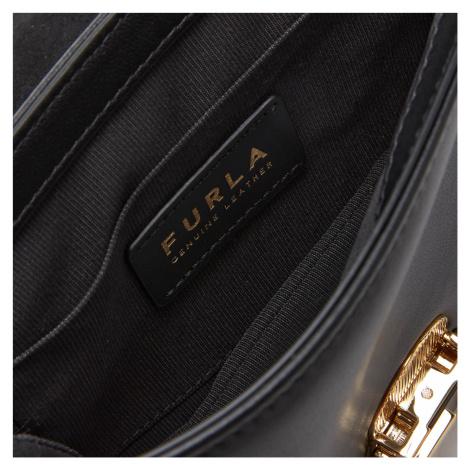Furla Women's Cosy Mini Shoulder Bag - Black
