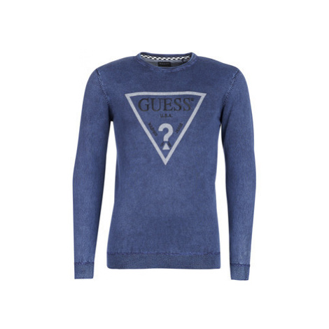 Guess JAGUARS men's Sweatshirt in Blue
