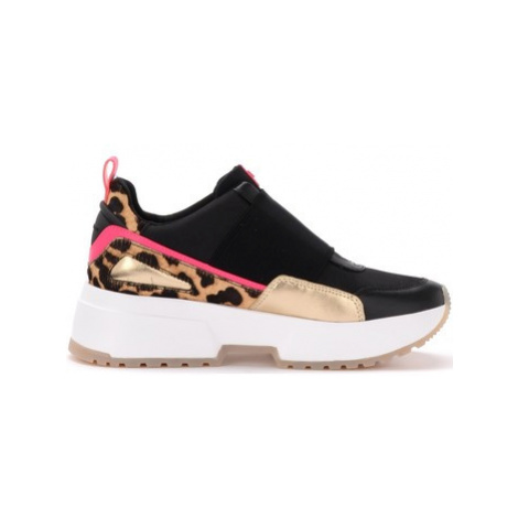 MICHAEL Michael Kors Cosmo sneaker in pony effect leather with fuchsia details women's Shoes (Tr