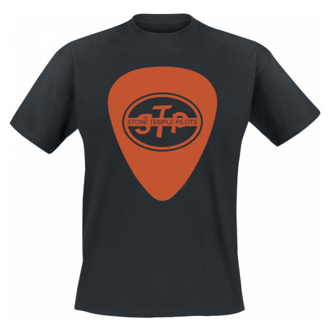 Stone Temple Pilots - Orange Plectrum - T-Shirt - black