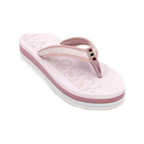 Napapijri Ariel 16798558 Sandals Women's Flip Flops women's Flip flops / Sandals (Shoes) in Pink