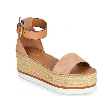 See by Chloé SB32201A women's Espadrilles / Casual Shoes in Pink