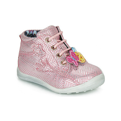 Catimini SALAMANDRE girls's Children's Mid Boots in Pink