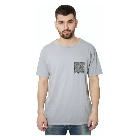 T-Shirt Quiksilver Checkered Past - SNA0/Flint Stone