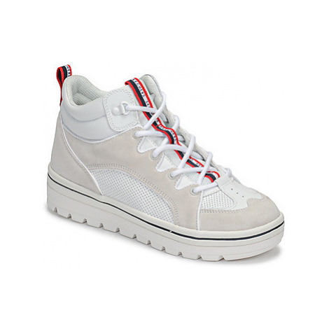 Skechers STREET CLEATS 2 women's Shoes (High-top Trainers) in White