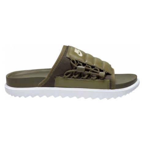 Nike ASUNA SLIDE dark green - Men's slippers