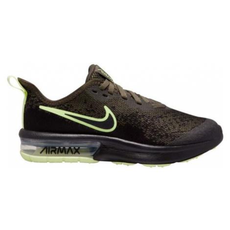 Nike AIR MAX SEQUENT 4 dark green - Kids' leisure shoes