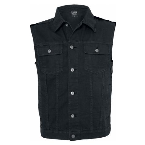 Urban Classics - Denim Vest - Waistcoat - black