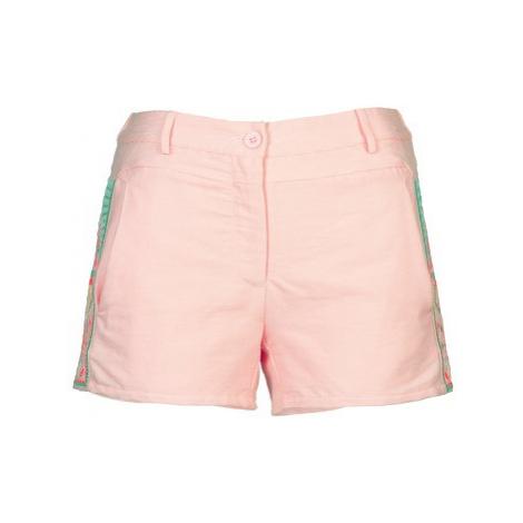 Color Block ALINE women's Shorts in Pink