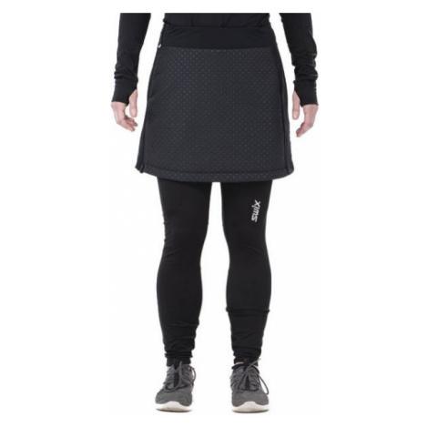 Swix MENALI black - Women's quilted skirt