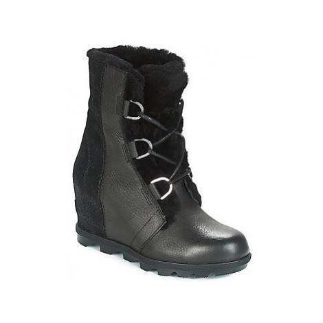 Sorel JOAN OF ARCTIC WEDGE II LUX women's Snow boots in Black