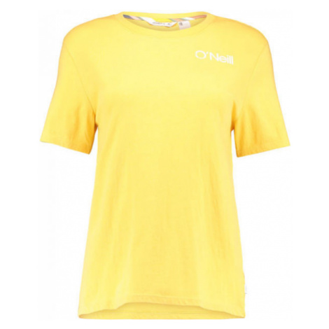 O'Neill LW SELINA GRAPHIC T-SHIRT yellow - Women's T-shirt