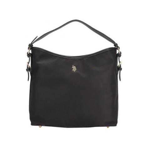 Us Polo Bags Flexible hobo bag women's Shopper bag in Black