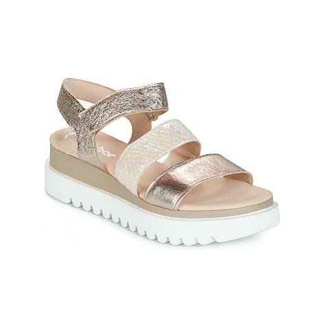 Gabor AMANDINO women's Sandals in Gold