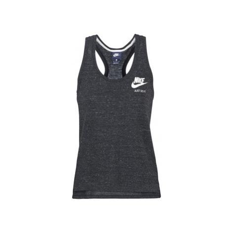 Nike VINTAGE SPORTDÉBA women's Vest top in Black
