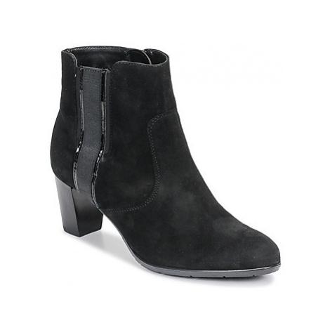 Ara 43413-73 women's Low Ankle Boots in Black