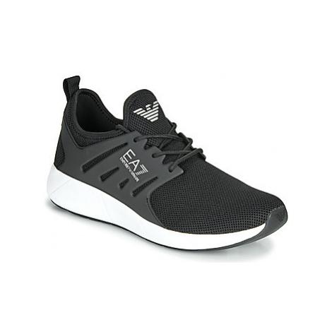 Emporio Armani EA7 MINIMAL RUNNING U men's Shoes (Trainers) in Black