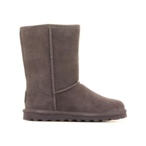 Bearpaw Elle Short 1962W-030 Charcoal women's Snow boots in Grey