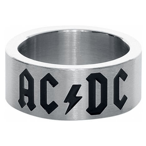 AC/DC AC/DC Logo Ring silver coloured