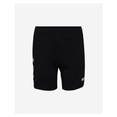Puma Alpha Summer Kids Shorts Black
