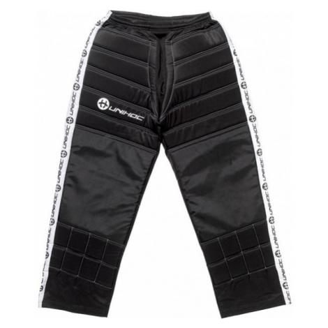 Unihoc GOALIE PANTS BLOCKER JR black - Floorball goalie pants