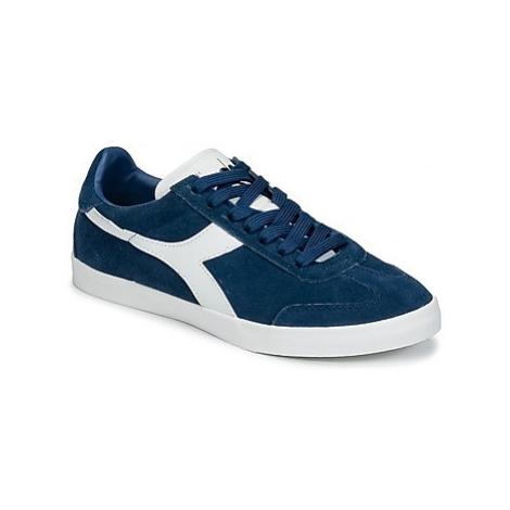 Diadora B ORIGINAL VLZ SUEDE women's Shoes (Trainers) in Blue