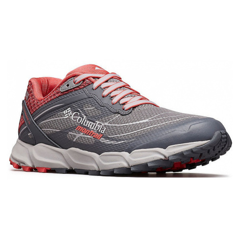 shoes Columbia Caldorado III OutDry - Monument/Red Coral - women´s