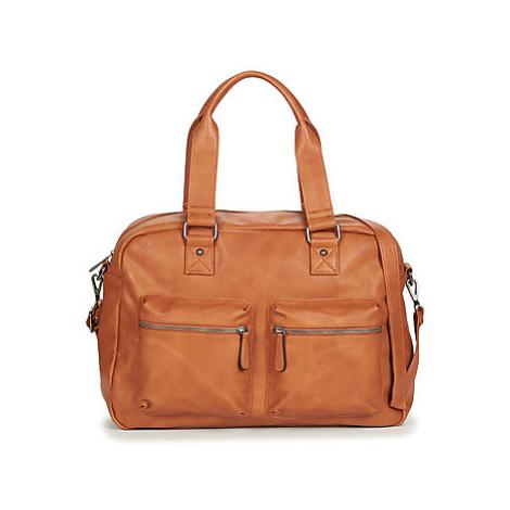 Nanucci 7912 women's Travel bag in Brown