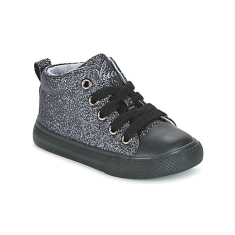 Chicco CARAMELLA girls's Children's Shoes (High-top Trainers) in Silver