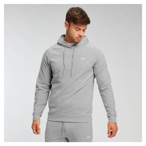 MP Men's Form Pullover Hoodie - Classic Grey Marl Myprotein