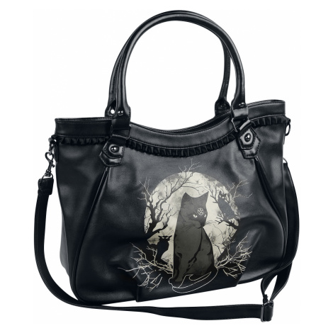 Banned - Hecate In Full Moon - Handbag - black-white