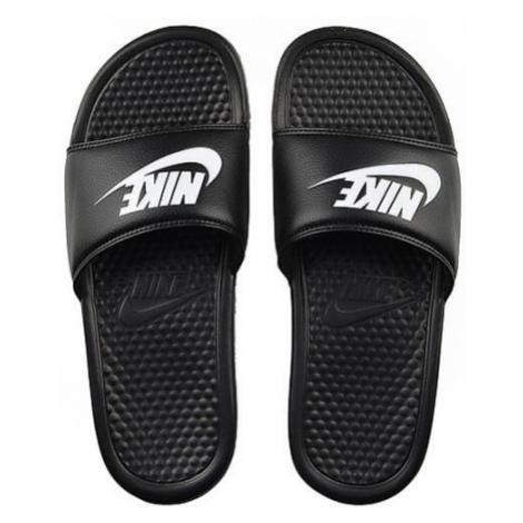 Nike Benassi Just Do It Black White 343880-090