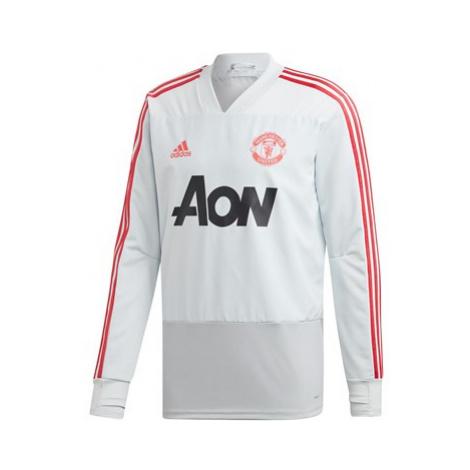 Manchester United Training Top - Grey Adidas