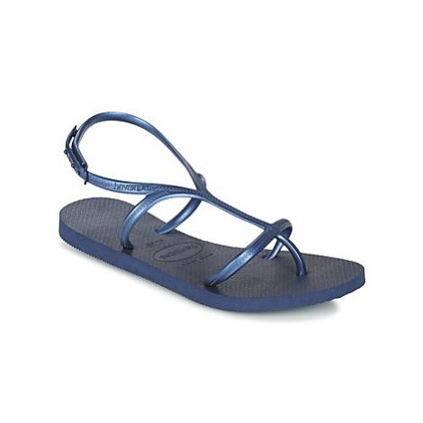Havaianas ALLURE women's Flip flops / Sandals (Shoes) in Blue