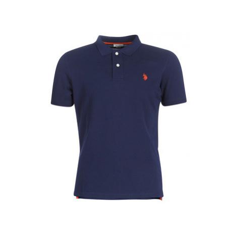 U.S Polo Assn. INSTITUTIONAL POLO men's Polo shirt in Blue U.S. Polo Assn