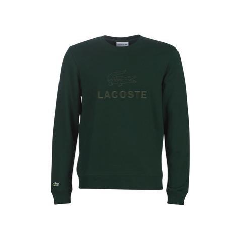 Lacoste SH8546 men's Sweatshirt in Green