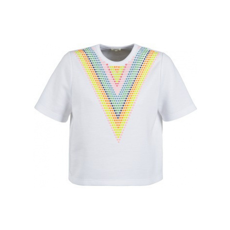 Manoush DOUDOU STAR women's Sweatshirt in White