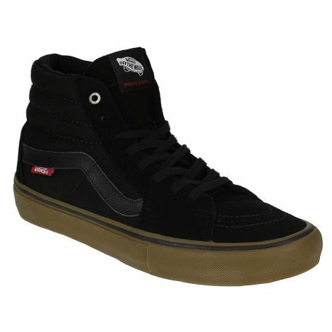 shoes Vans Sk8-Hi Pro - Black/Gum