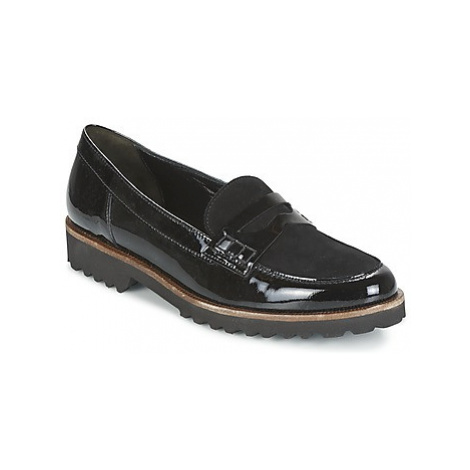 Gabor BELANA women's Loafers / Casual Shoes in Black