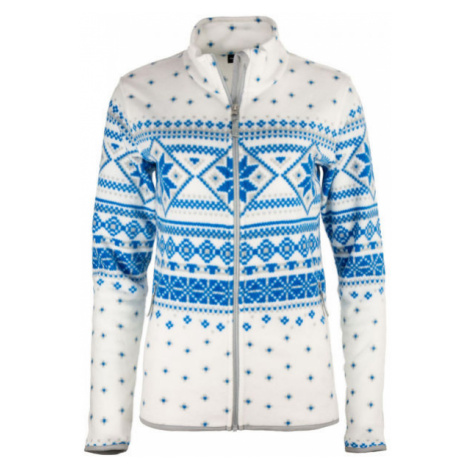 ALPINE PRO DELISA white - Women's sweater