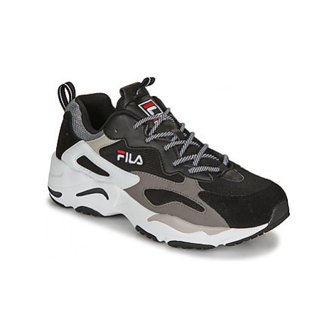 Fila RAY TRACER men's Shoes (Trainers) in Black