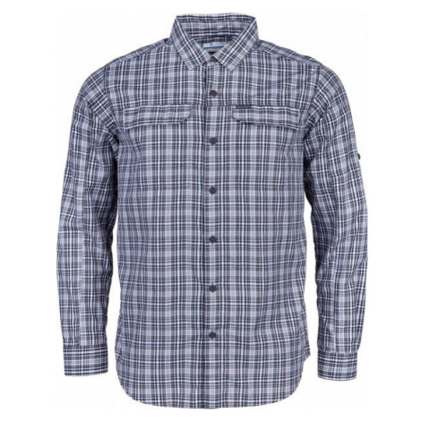 Columbia SILVER RIDGE™ 2.0 PLAID L/S SHIRT gray - Men's long sleeve shirt