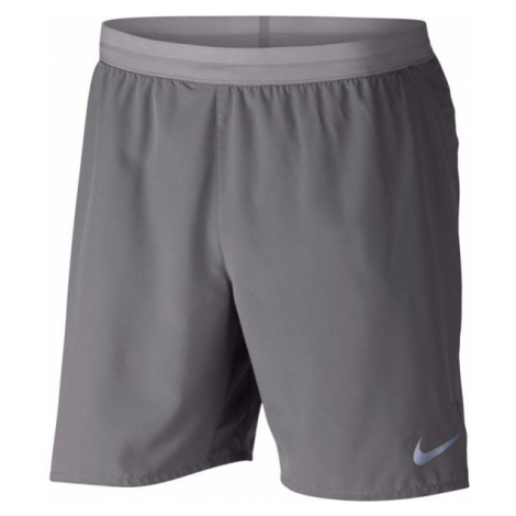 Nike DSTNCE SHORT BF 7IN gray - Men's running shorts