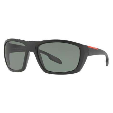 Prada Linea Rossa Man PS 06SS - Frame color: Black, Lens color: Green, Size 61-17/130