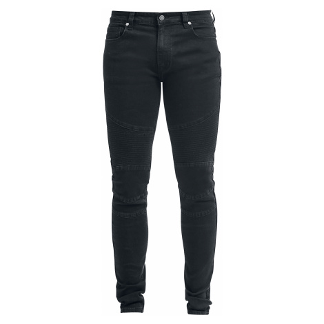 Forplay - Biker Pants - Jeans - black