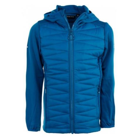 ALPINE PRO CARSONO blue - Children's hoodie