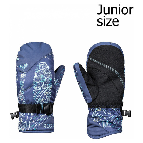 glove Roxy Jetty Mitt - BQY5/Crown Blue/Freespace Girl - girl´s